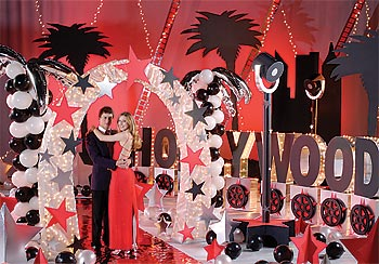 Ideas  Decorating on Hollywood Post Prom   Prom Ideas   Event Ideas  Decorations