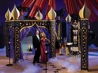 Travel to romance with an arabian themed prom prom ideas for Arabian night decoration