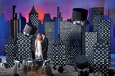 Set Your Prom In The City With A Metro Magic Kit Ideas Event Decorations