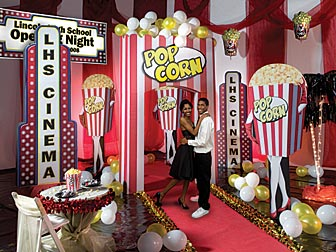 Delicieux Host An Opening Night Magic Theme Hollywood Prom