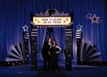stars-on-broadway-prom-theme
