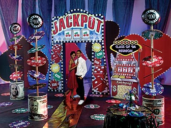 Fun is No Gamble with a Vegas Escape Themed Prom Prom