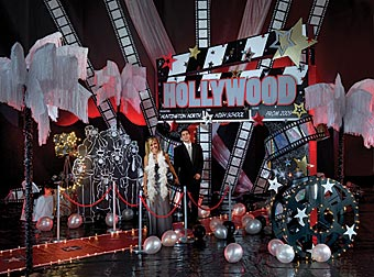 Create Tinsel Town Romance With A Glimmer Of Hollywood