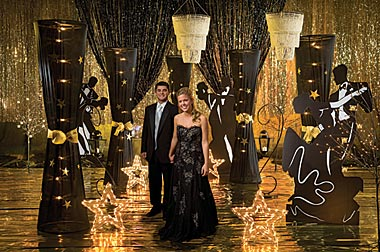 Create a stunning event with a mystical evening theme prom for How can prom venues be decorated