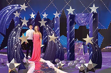 Star theme prom prom ideas event ideas decorations for Wish decoration