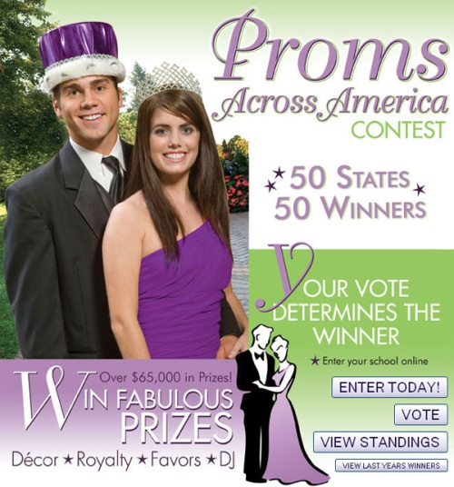 Proms Across America Contest