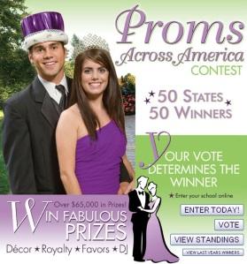 2010 Stumps Proms Across America Contest Winners