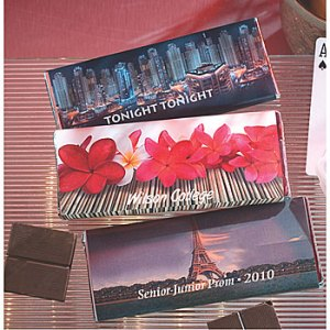 Personalized Prom Candy Bars Help To Raise 2010 Prom Funds