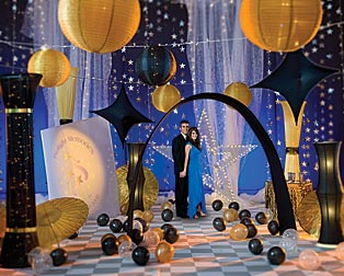 Black Tie Events | Prom Ideas & Event Ideas, Decorations
