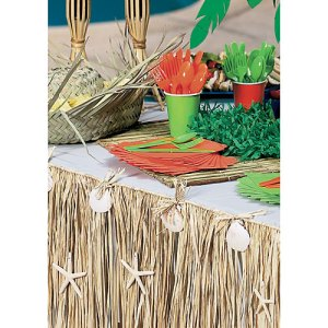 raffia table decorations